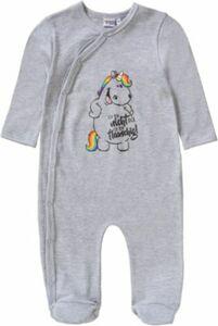 Pummeleinhorn Baby Strampler grau Gr. 98