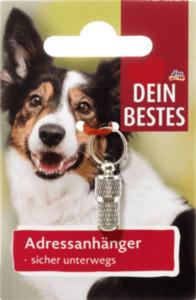 Dein Bestes Zubehör für Hunde, Adressanhänger
