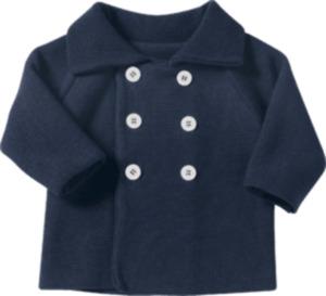 ALANA Baby-Jacke, Gr. 68, in Bio-Baumwolle, blau, für Mädchen und Jungen