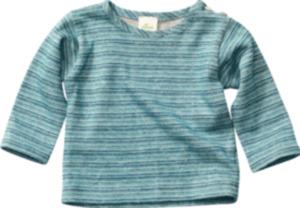 ALANA Baby-Pullover, Gr. 62, in Bio-Leinen und Bio-Baumwolle, türkis, blau, für Mädchen und Jungen