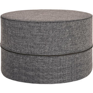 Innovation HOCKER Flachgewebe Grau