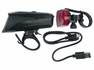 CRIVIT® LED-Fahrrad-Leuchtenset