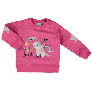 Baby Sweatshirt mit Print, Stickerei und Applikation