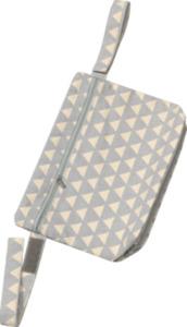 ALANA Wagentasche, in Bio-Baumwolle, grau, weiß