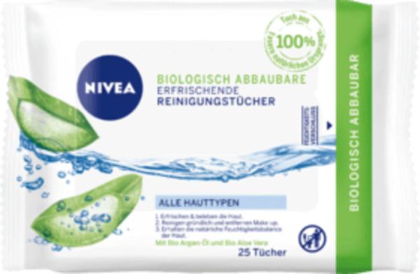 NIVEA Reinigungstücher biologisch abbaubar