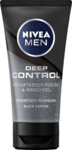 NIVEA MEN Deep Control Anti-Mitesser Peeling & Waschgel 75ml