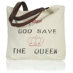 Handtasche Queen ca.50x40cm