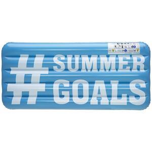 Luftmatratze Hashtag Blau