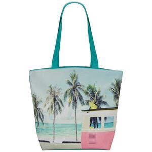 Strandtasche Miami Vibes in Bunt