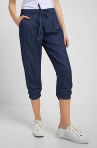 Caprihose in Jeans-Optik