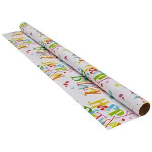 Geschenkpapier Marie Multicolor/Weiß