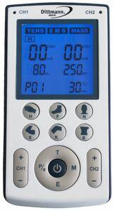 Dittmann Tens/EMS-Gerät mit Clip, TEN 250
