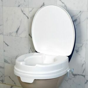 Servocare Toilettensitzerhöhung mit Deckel M1 2114L-SC