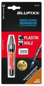 Ersatz-Kartusche 5 g für Reparaturstift Plastik und Holz, rotbraun Blufixx