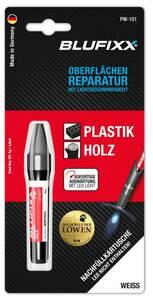 Ersatz-Kartusche 5 g für Reparaturstift Plastik und Holz, weiß Blufixx