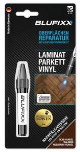 Ersatz-Kartusche 5 g für Reparaturstift PW Laminat/Parkett/Vinyl, Eiche dunkel Blufixx