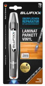 Reparaturstift 5 g PW für Laminat inklusive blauem LED-Licht, Kirsche Blufixx