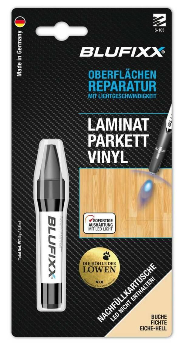 Ersatz-Kartusche 5 g für Reparaturstift PW Laminat, Buche Blufixx