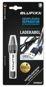 Ersatz-Kartusche 5 g für Reparaturstift CI Kabel, schwarz Blufixx
