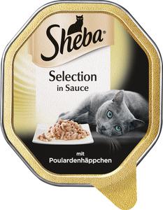 Sheba Selection in Sauce mit Poulardenhäppchen Katzenfutter nass 85 g
