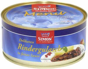 Simon Delikatess Rindergulasch in feiner Sauce 300 g
