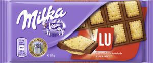 Milka Alpenmilch Schokolade mit LU-Keksen 87 g