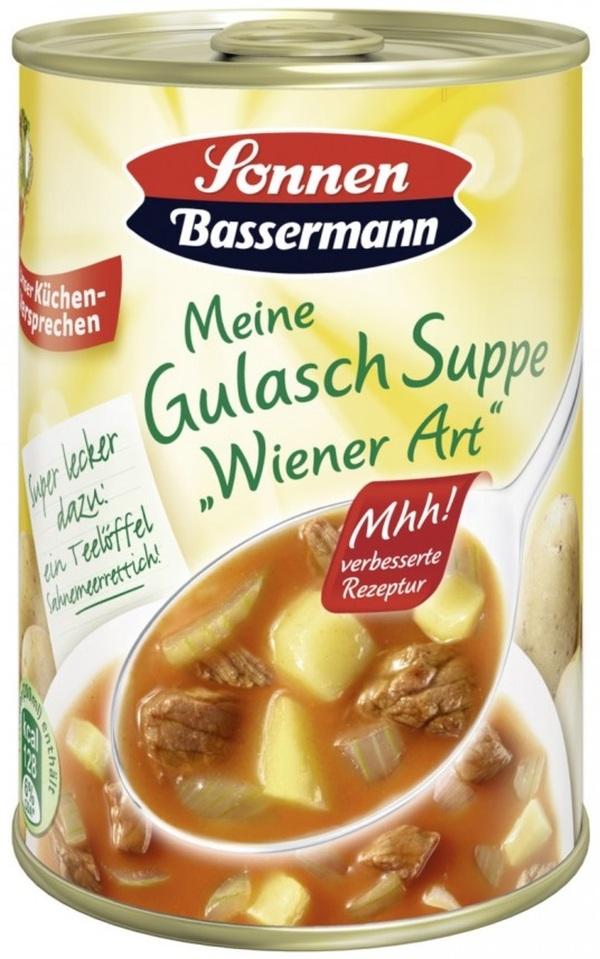 Sonnen Bassermann Gulasch Suppe Wiener Art 400 ml
