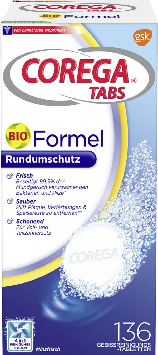 Corega Tabs Reinigungstabs Bio Formel 136 Stück