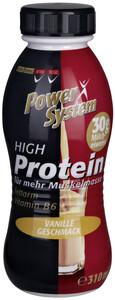 Power System High Protein Drink Vanille Geschmack 310 ml