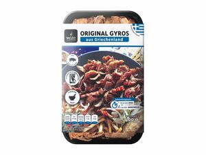 Meze original Gyros aus Griechenland