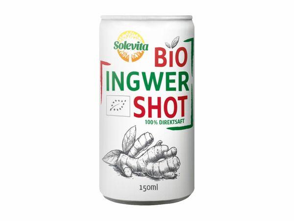 Bio-Ingwer-Shot