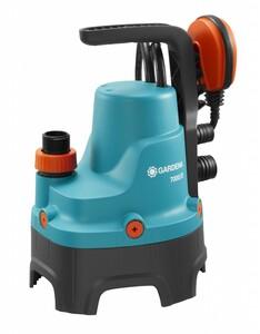 Gardena Schmutzwasser-Tauchpumpe 7000/D 300 Watt, 01665-61 | B-Ware - Vorführgerät - Gerät wurde bereits benutzt - Verpackung beschädigt