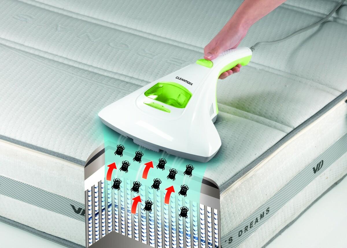 Bild 3 von CLEANmaxx Anti-Milbensauger | B-Ware - Vorführgerät - Gerät wurde bereits benutzt - Verpackung beschädigt