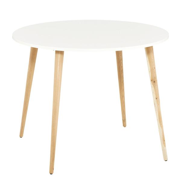 Esstisch Oslo (ø 100 cm, rund, skandinavisches Design) von ...