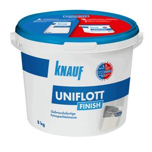 Knauf -              Knauf Feinspachtelmasse 'Uniflott Finish' weiß 8 kg