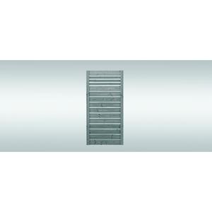 Sichtschutz NEO sägerau, grau imprägniert