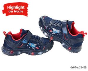 Kleinkinder-Schuhe mit Blinkfunktion