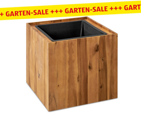 GARDENLINE®  Holz-Pflanzgefäß