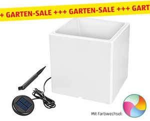 GARDENLINE®  LED-Solar-Blumentopf