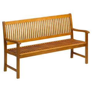 """Gartenbank """"Vroni"""" Akazie 3-Sitzer 160 x 90 x 58 cm"""