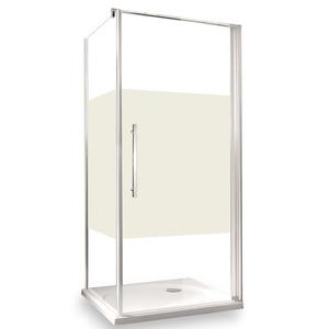 toomEigenmarken -              toom Seitenwand für Drehtür 'Beta Intima' links 80 x 190 cm chrom