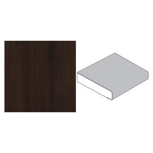 GetaElements -              GetaElements Küchenarbeitsplatte 4100 x 600 x 39 mm Pinie Modern dunkelbraun