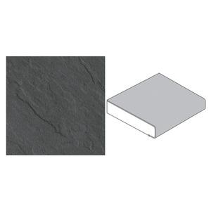GetaElements -              GetaElements Küchenarbeitsplatte 4100 x 600 x 39 mm Schiefer grau