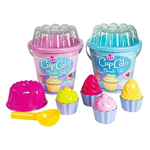 Simba - Eimergarnitur Cupcake 7-tlg., sortiert