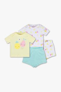 Baby Club         Baby-Pyjama - Bio-Baumwolle - 2 teilig - 2er Pack