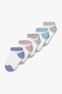 Baby Club         Baby-Socken - 5 Paar - Glanz Effekt