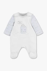 Baby Club         Strampler-Set - Bio-Baumwolle - 2 teilig