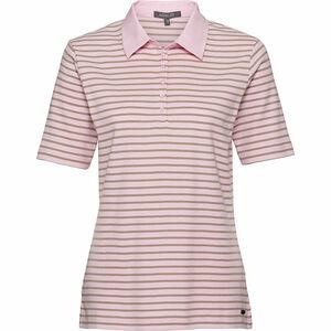 Adagio Damen Poloshirt, geringelt