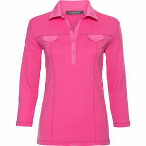 Adagio Damen Poloshirt, 3/4-Arm
