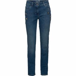 Gerry Weber Damen Jeans mit Steinchen-Applikationen